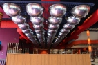 ROANOKE, Oct. 4 - MELLOW MUSHROOM: The restaurant chain is known for its retro-esque decor. Photo: Katelin Frosell