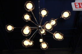 ROANOKE, Oct. 4 - MELLOW MUSHROOM: An eclectic chandelier provides a funky atmosphere for the restaurant. Photo: Katelin Frosell