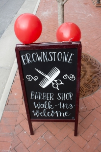 Blacksburg, Va., Feb. 1 - Walk Ins Welcome: Appointmens for hair cuts can be made online or over the phone, but Brownstone invites customers to walk in for an unscheduled appointment as well. Photo: Stephen Dixon