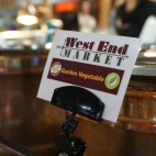 Blacksburg, Va., Feb. 25 - Soup of the Day: West End Market offers vegetable soup and chili daily at its salad station.