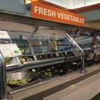 Blacksburg, Va., Feb. 25 - Fresh Veggies: Owens dining hall offers fresh vegetables and fruits for students.