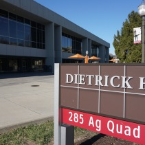 Blacksburg, Va., Feb. 25 - Dietrick Hall: Dietrick dining hall offers international cuisine on its upper level and gourmet desserts and express items on its lower level.