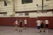 Blacksburg, Va., Feb. 23 - Free Throw: Players watch as no. 23 on maroon shoots a free throw. Photo: Johnny Kraft
