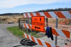 Blacksburg, Va, April 2-Detour: Hikers, walkers and bikers should pay attention to maps and detour signs so they do not get lost or end up in an unsafe situation. Photo: Becky Shumar