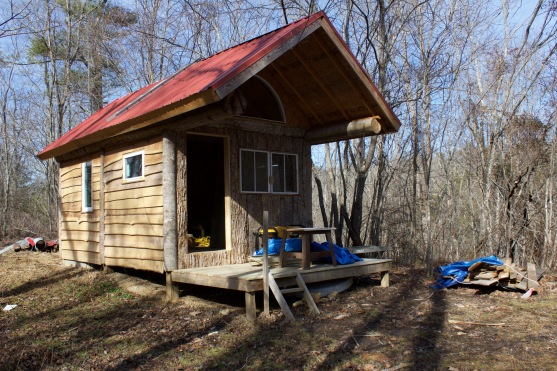 Dublin, Va., Feb. 2, 2018 – Shed/Sauna: Every part of the farm is repurposed for the festival; a secluded shed becomes a sauna during the weekend of the festival. Photo Credit: Brendan Quinn