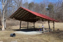 Dublin, Va., Feb. 2, 2018 – Stage Area: A canopy looms over the stage area. This protection is essential if weather is a concern. Photo Credit: Brendan Quinn
