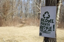 Dublin, Va., Feb. 2, 2018 – All attendees are required to pick up after themselves. Festivals only continue to occur as long as everyone respects the environment. Photo Credit: Brendan Quinn