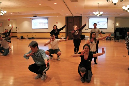 BLACKSBURG, Va., March 14 – Modern Culture: The show also features modern dancing to demonstrate Filipino dancing of today. Photo: Kat Schneider