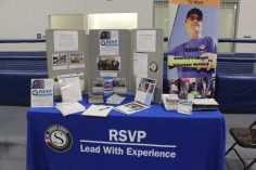 Christiansburg, Va., Sept. 19- Volunteer: Each respective exhibitor had the opportunity to recruit volunteers to their organization. Photo: Billy Parvatam