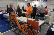Christiansburg, Va., Sept. 19- Exercise: Roam NRV is a new bike program created by Blacksburg Transit to encourage physical exercise. Photo: Billy Parvatam