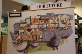 Blacksburg, Va., May 7- Plans for renovation- The Museum is currently working on some exciting second floor renovations. Renovations are expected to be completed this year. Photo: Madi Praver