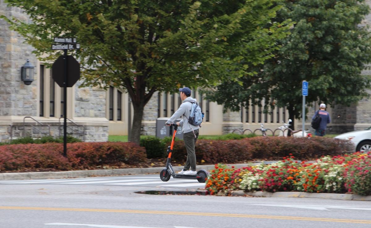 Blacksburg proposes e-scooterregulations