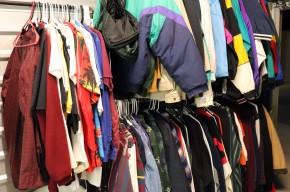Many styles of apparel are found at VTThrift for reasonable prices. Photo credit: Sarah Cundiff